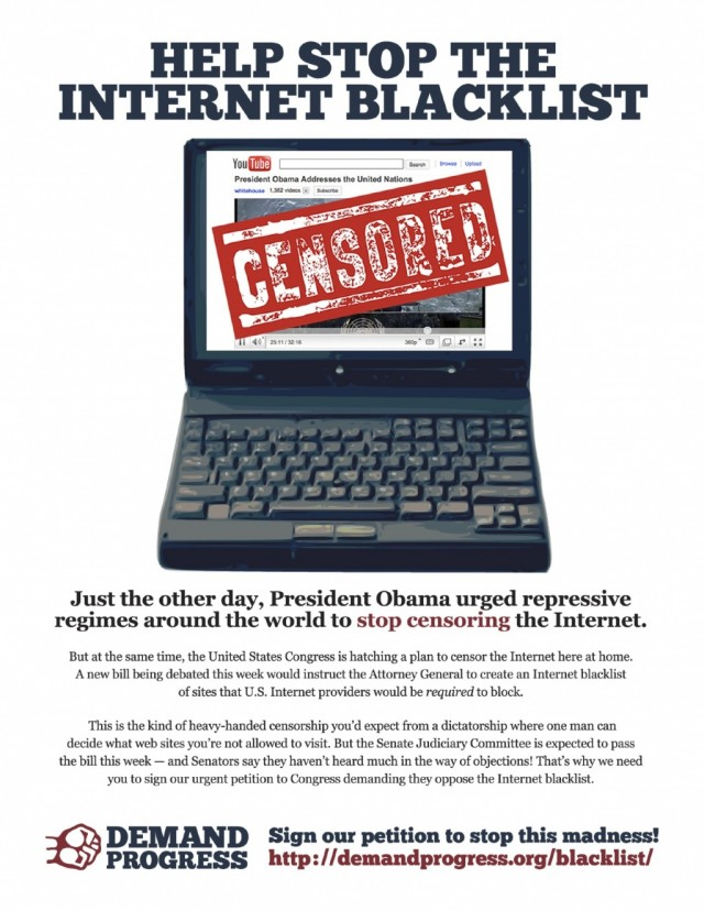 Stop The Internet Blacklist